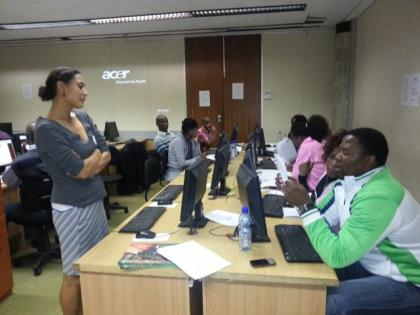 2013 BGIS training Eastern Cape