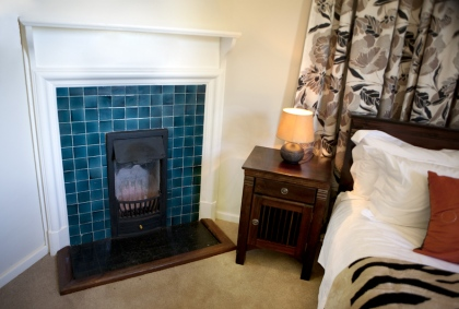 Executive Suite original fireplace