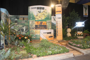 SANBI stand at Sunday Tribune Garden and Leisure Show